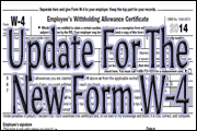 Update For The New Form W-4