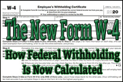 The New Form W-4 For 2020 - And How Federal Withholding Is Now Calculated