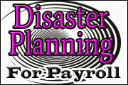 Disaster Planning For Payroll