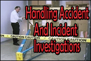Handling Accident And Incident Investigations