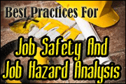 Best Practices For Job Safety And Job Hazard Analysis