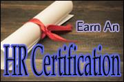 earn a hr certification