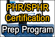 PHR/SPHR Certification Prep Program