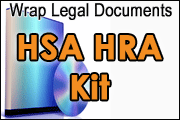 Wrap Legal Documents for Section 125/HSA/HRA Kit