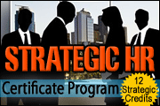 strategic hr leadership certificate program