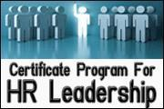 Certificate Program For HR Leadership