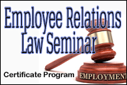 Certificate In Employee Relations Law Seminar
