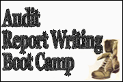 Audit Report Writing Boot Camp