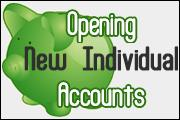 Opening New Personal/Consumer Accounts
