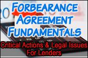 Forbearance Agreement Fundamentals