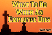 When An Employee Dies