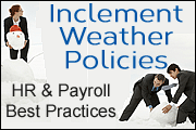 Inclement Weather Policies: Best HR and Payroll Practices for 2018 & 2019
