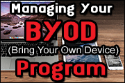 Bring Your Own Device To The Workplace: Minimizing Legal Risks Of BYOD Programs