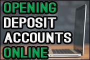 Online Deposit Account Opening