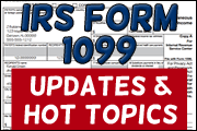 IRS Form 1099: Updates And Hot Topics