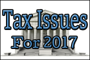 Top Federal Tax Issues For 2017