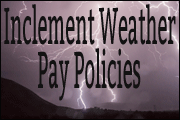 Inclement Weather Pay Policies
