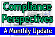 Compliance Perspectives: A Monthly Update