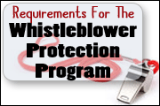 Whistleblower Protection Program Requirements
