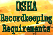New OSHA Recordkeeping Requirements