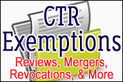 bsa-series-ctr-and-exemptions-reviews-mergers-revocations-and-more