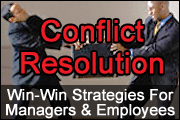 Conflict Resolution: Win-Win Strategies for Managers & Employees
