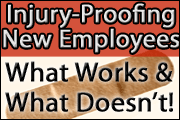 Injury-Proofing New Employees