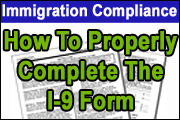How To Properly Complete The I-9 Form
