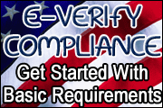 E-Verify Compliance: Basic Requirements/Getting Started