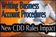 writing-business-account-procedures-new-cdd-rules