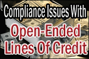 open-ended-lines-of-credit-compliance-issues
