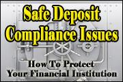 Top 25 Safe Deposit Compliance Issues
