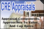 CRE Appraisals: Appraisal Components, Approaches To Value, And Cap Rates