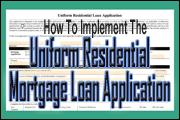 implementing-the-revised-uniform-residential-mortgage-loan-application