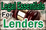 Legal Essentials For Lenders