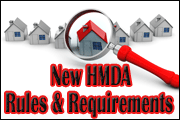New HMDA Rules And Requirements