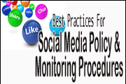 best practices for social media policy and monitoring procedures